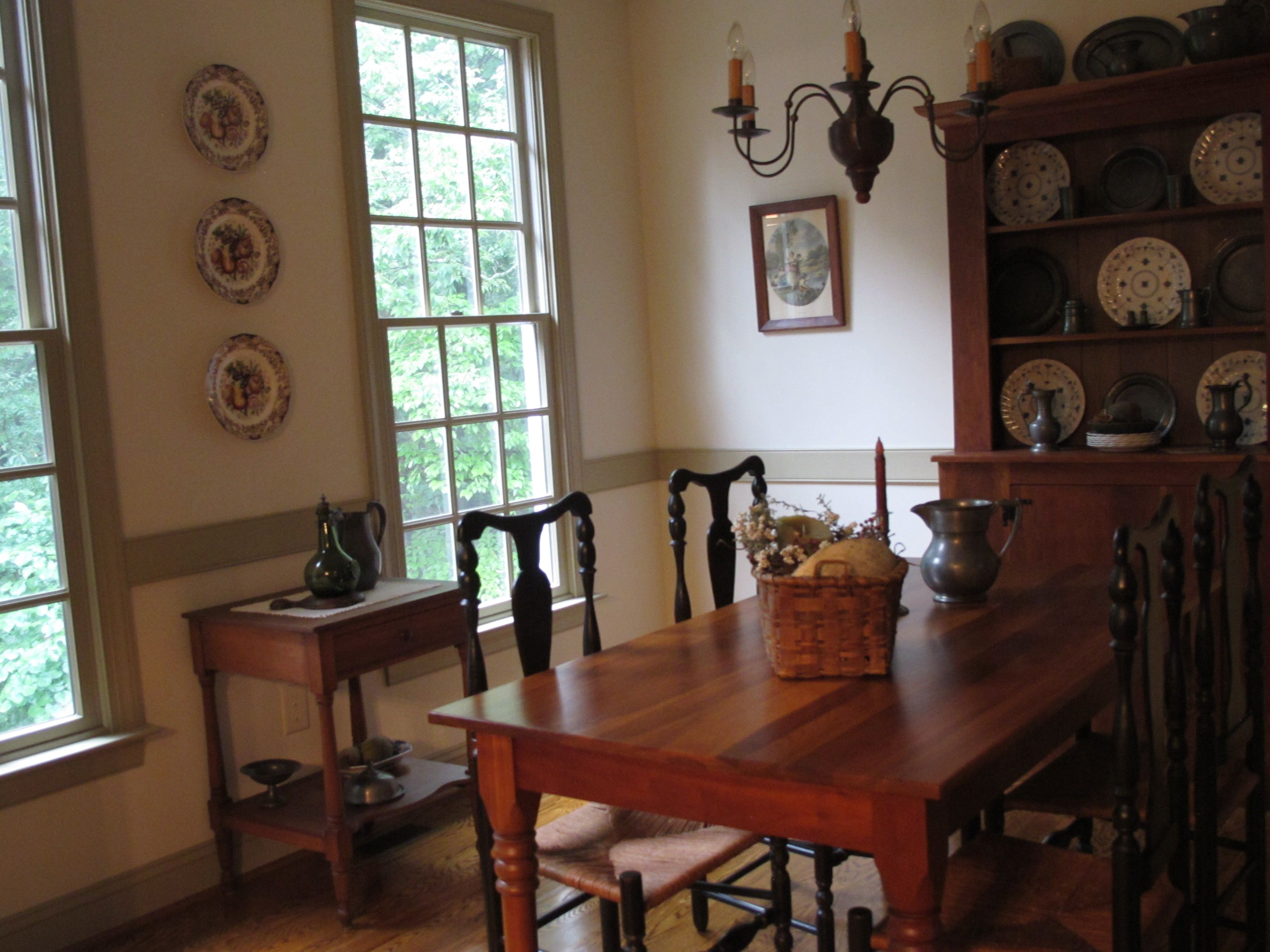 Colonial Dining Room Primitive Rooms