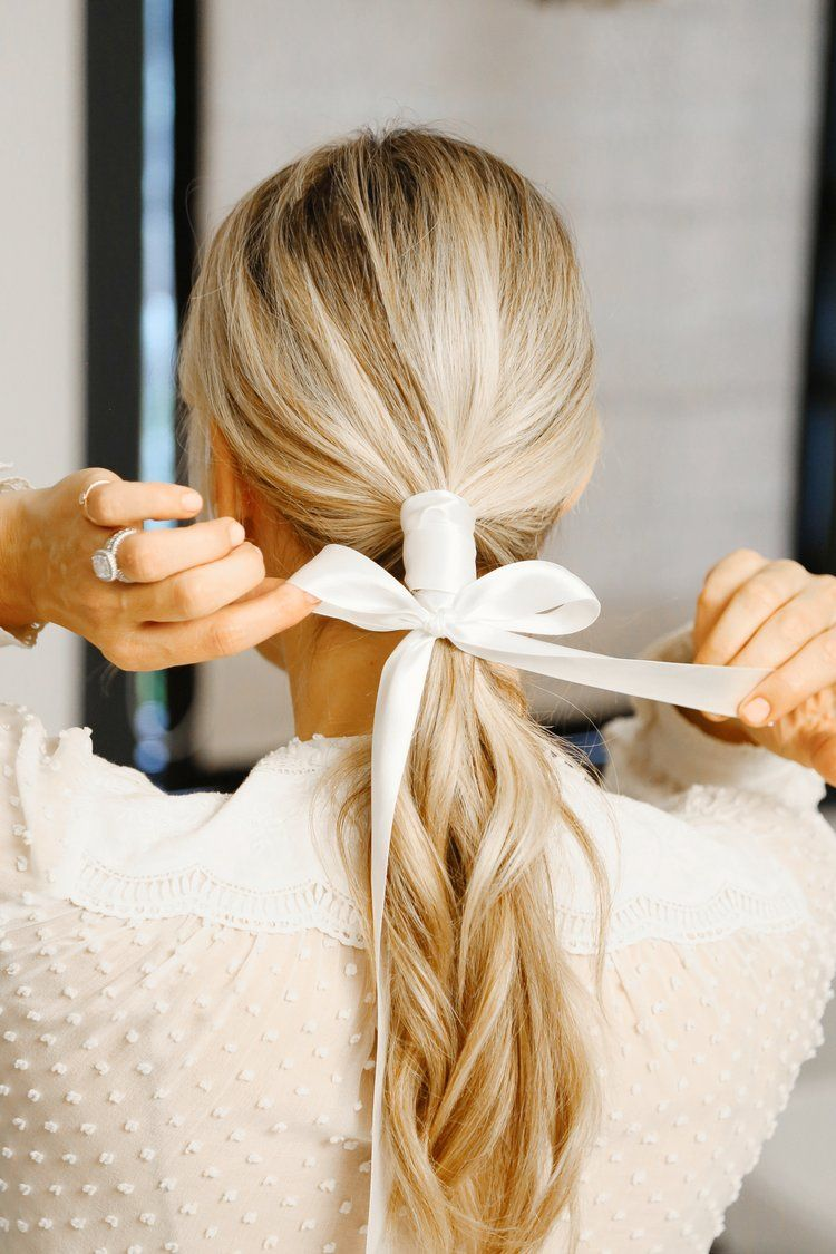 Falls Hottest Hair Accessory The Ribbon 3 Ways Youtube Tutorial