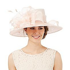 Hatbox Light Pink Ruffle Bow Hat