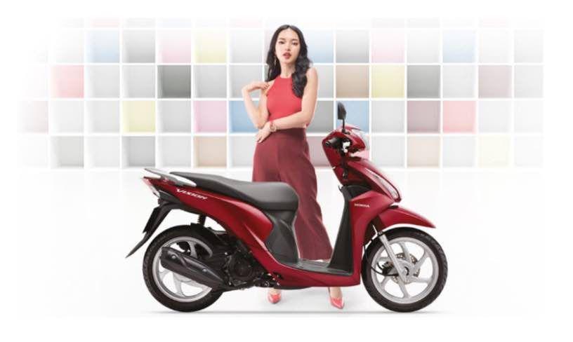 Giá xe Honda Vision 2018 kèm ưu nhược điểm và thông số kỹ thuật | Muasamxe.com