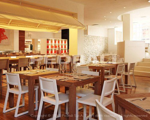 Arredamento osteria ~ Arredamento ristorante chitaka sedie sgabelli e tavoli di design