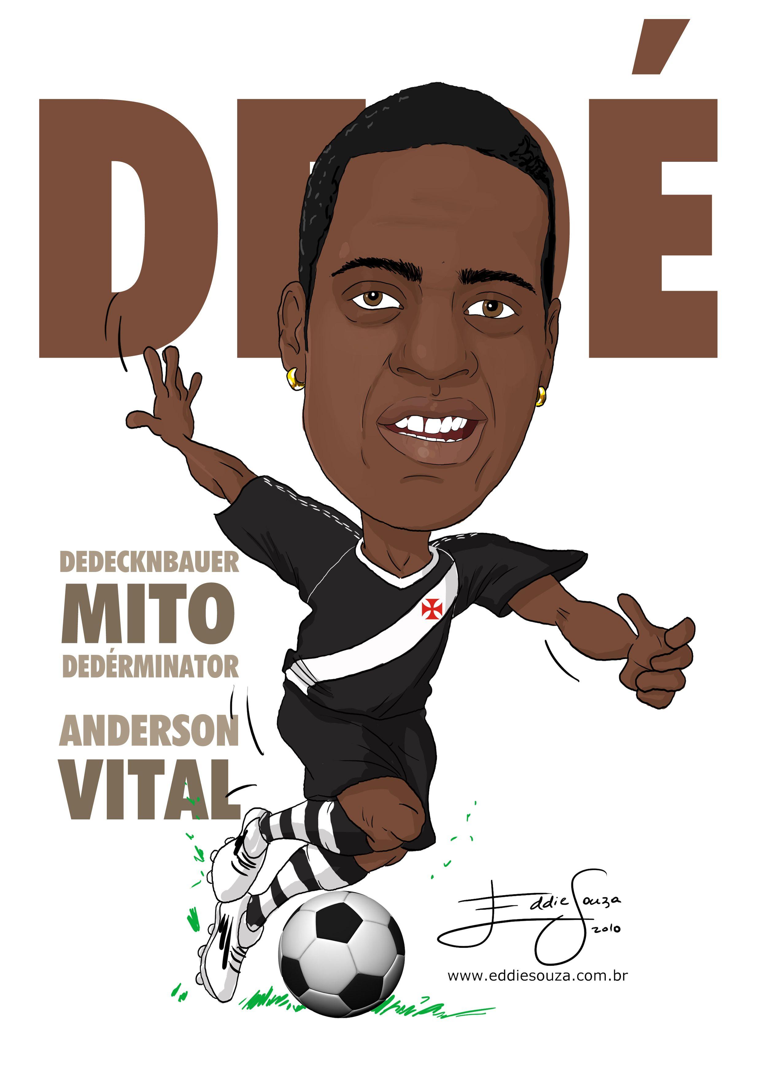 Dede Caricatura Eddie Souza Caricatura Vasco Da Gama Desenho