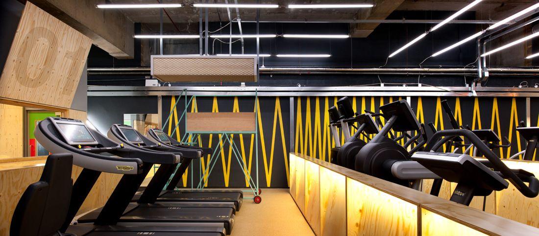 Gymbox Special Running Lane Fitness Center Design Gym Interior Gym Decor