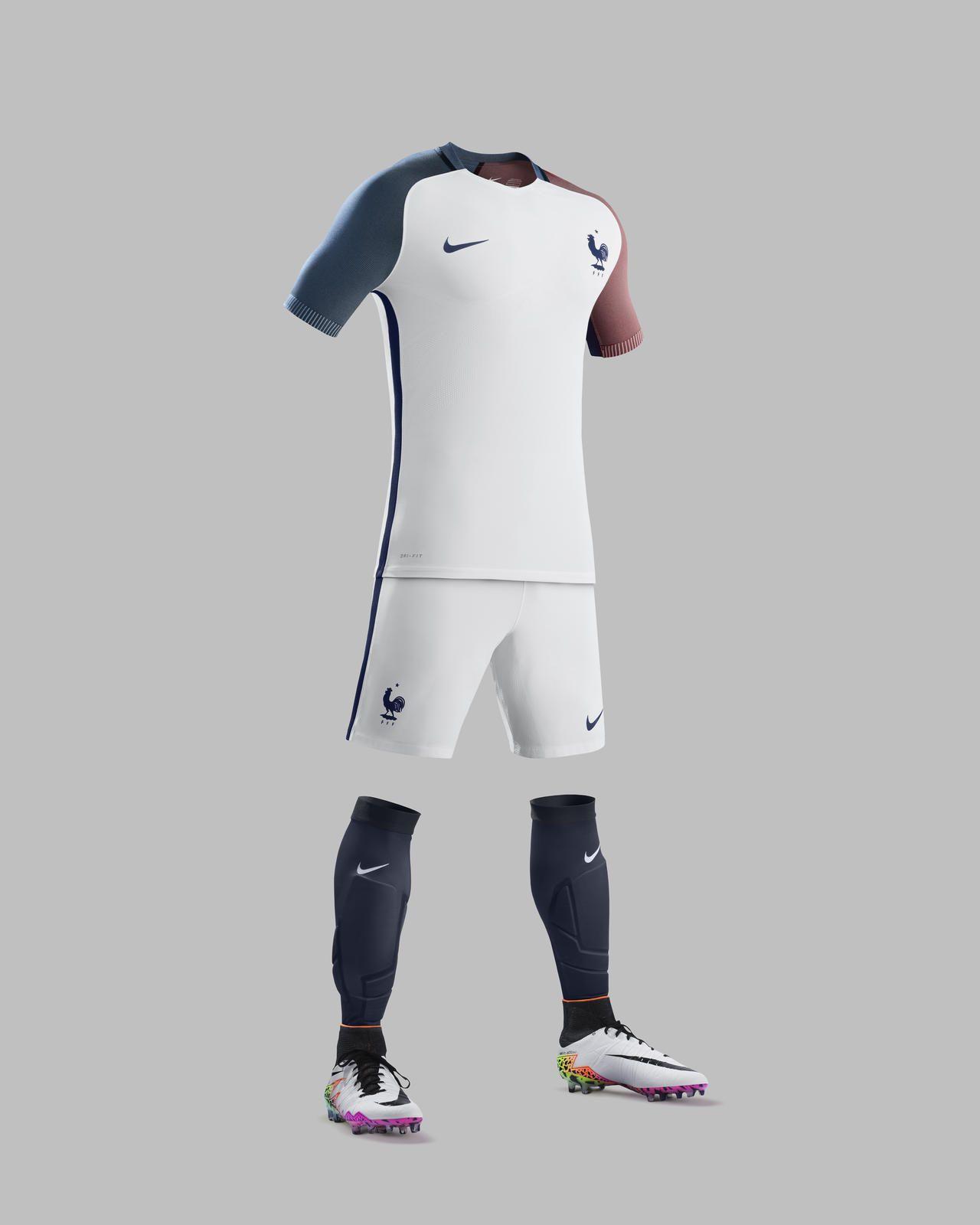 3f5ac2f0a62 France 'Euro 2016' Nike Away Shirt