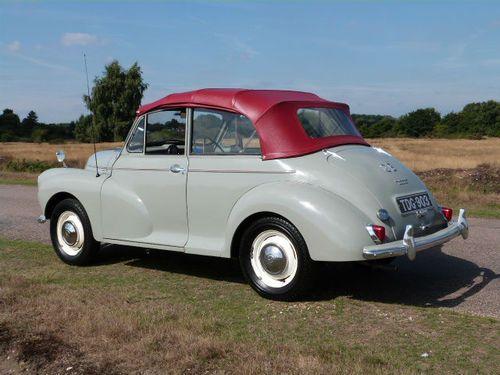 1957 Morris MINOR 1000 Sports/Convertible 948cc Petrol Just. Under £7000