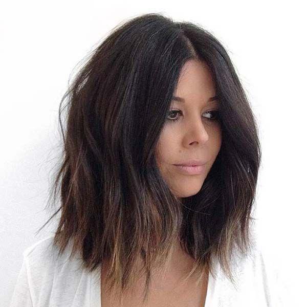 Sombre Bob Frizura Na Tamnoj Kosi Efrizer Frizure Hair Hair