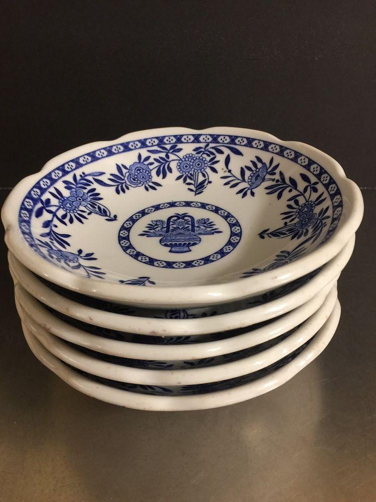 Vintage Restaurant Ware Diner Bowls Set 6 Delft Blue Asian Style Mid Century | eBay & Vintage Restaurant Ware Diner Bowls Set 6 Delft Blue Asian Style Mid ...