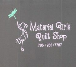 Shop Of The Day Kansas Material Girls Quilt Shop 306 N Buckeye