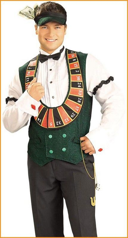 955bf7ceb832 Halloween Costumes Casino Dealer Costume Adult | costume ideas | Las ...