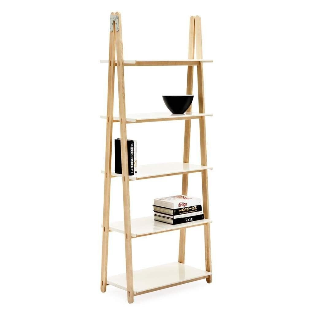 Normann one step up bookcase white bookcase white shelving and