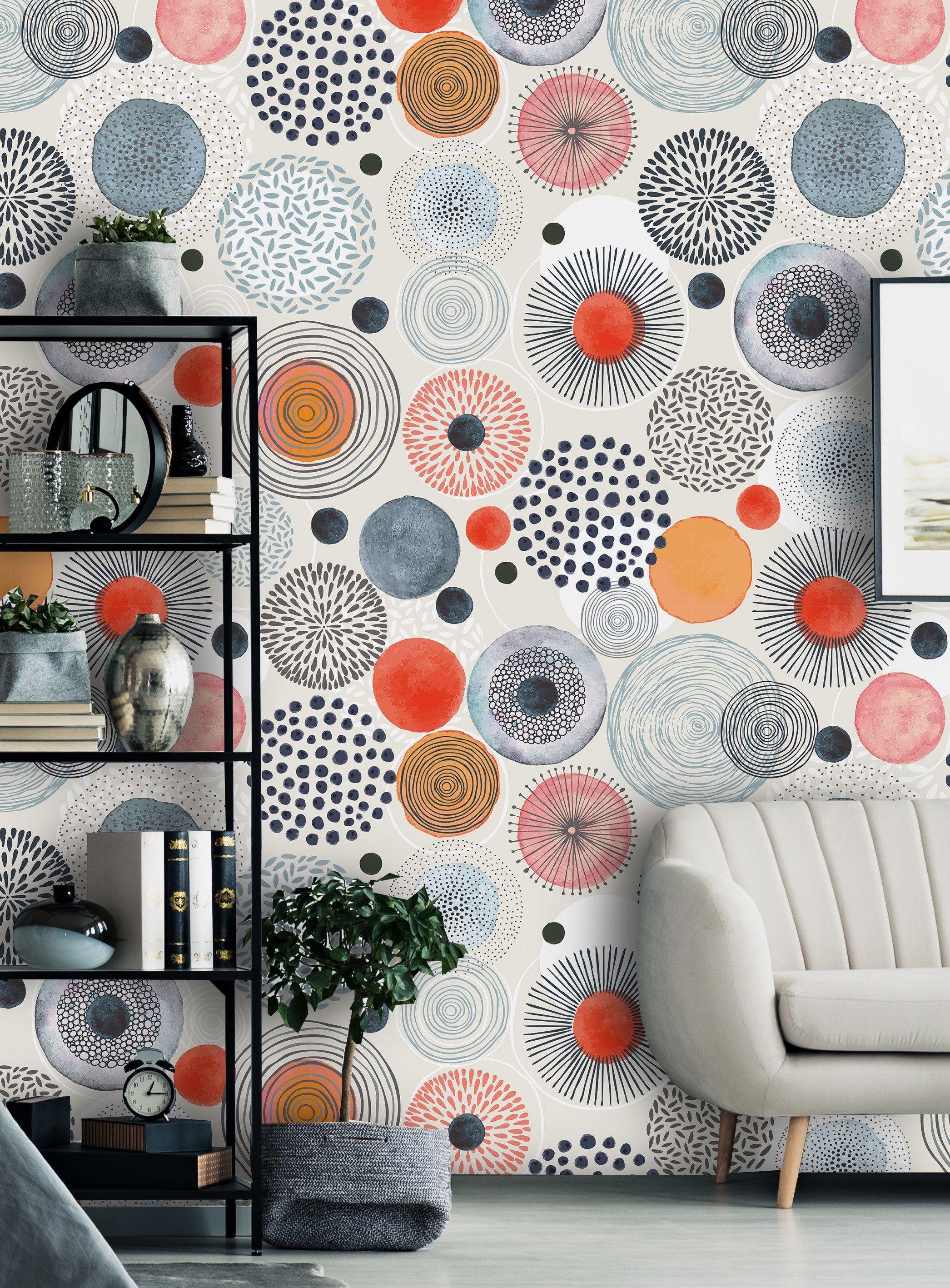 Removable Peel N Stick Wallpaper Self Adhesive Wall Etsy Peel N Stick Wallpaper Room Decor Decor