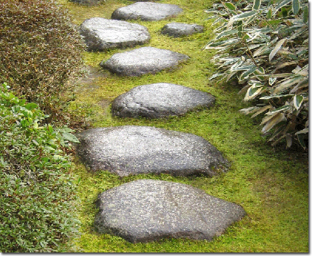 Japanese gardening the garden path on the thusness and for Japanese garden path