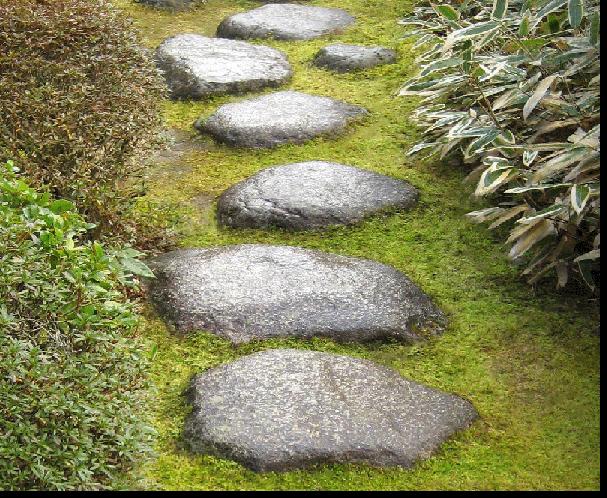 Meditation Path In Garden Google Search Japanese Garden Garden Stones Japan Garden