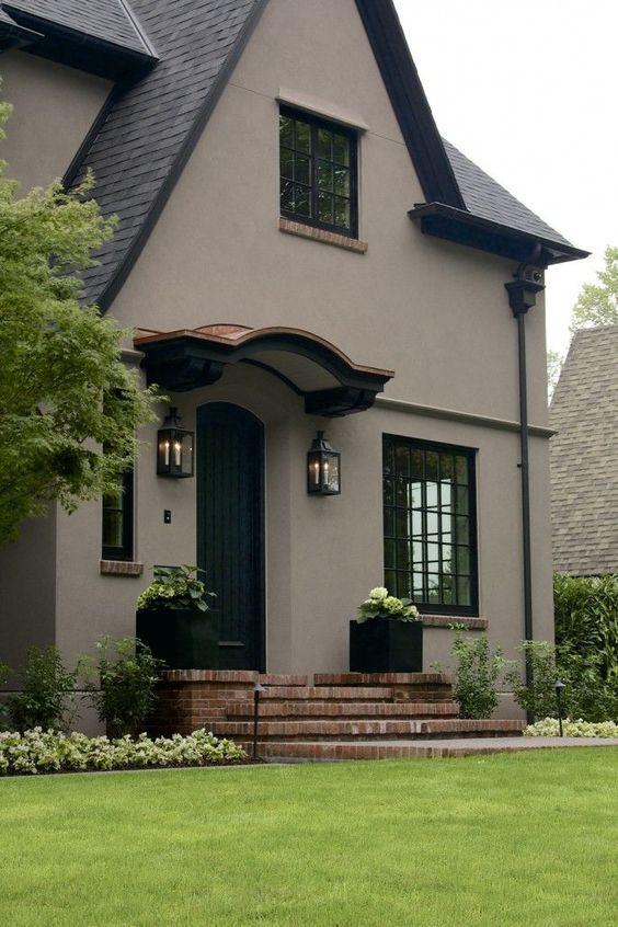 Colores para pintar fachadas de casas pinterest - Colores de moda para pintar exteriores de casas ...