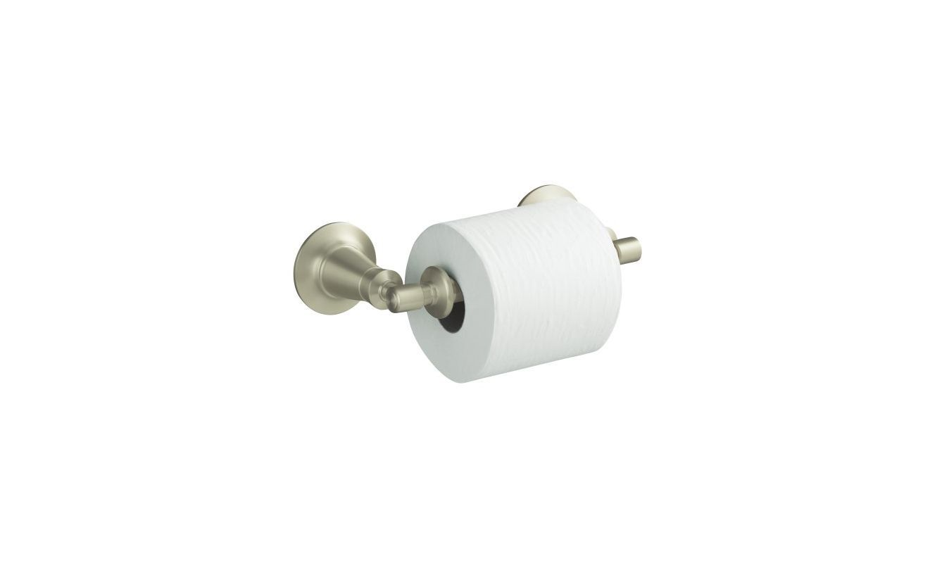 Kohler K-11054 Archer Toilet Tissue Holder Brushed Nickel Accessory ...