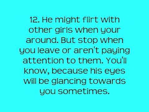 flirting signs he likes you will die quotes