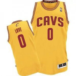 best loved b52a9 ca8f7 Cleveland Cavaliers Jersey Kevin Love #0 Yellow Jersey [J107 ...