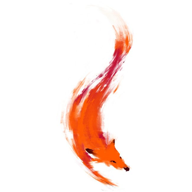 0c97b0c89 The Quick Orange-Red Fox is a T Shirt designed by kdeuce to illustrate your  life and is available at Design By Humans