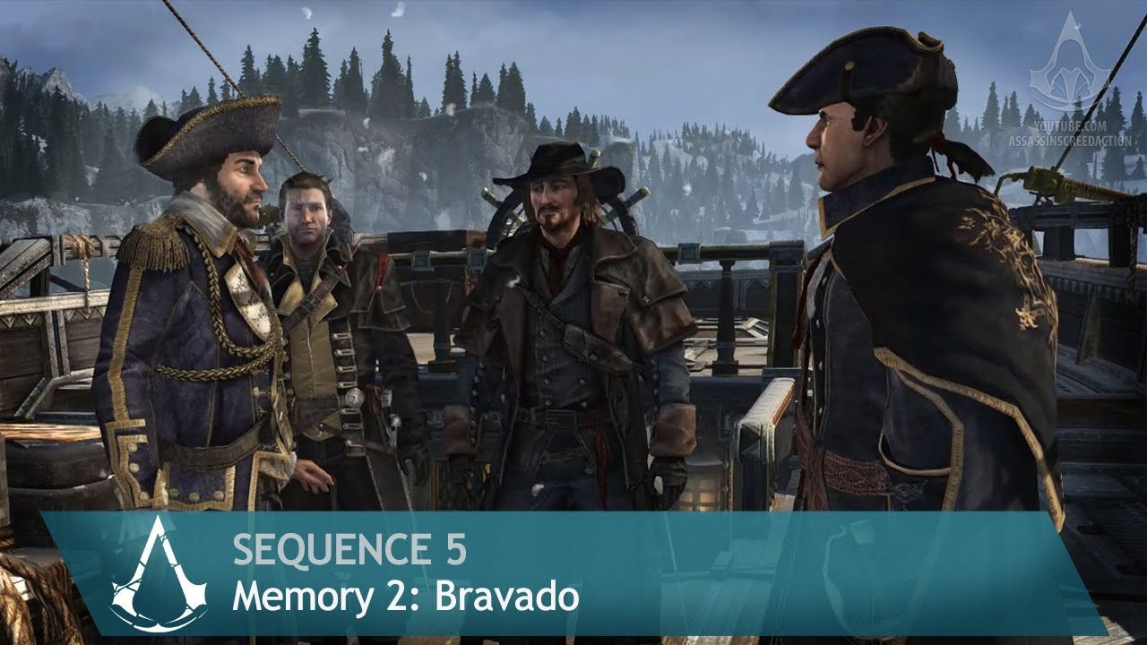 Assassin's Creed: Rogue - Mission 2: Bravado - Sequence 5 [100% Sync]