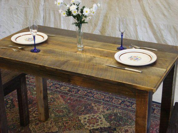 Farmhouse Table Counter Height Dining Room Table Farmhouse Etsy