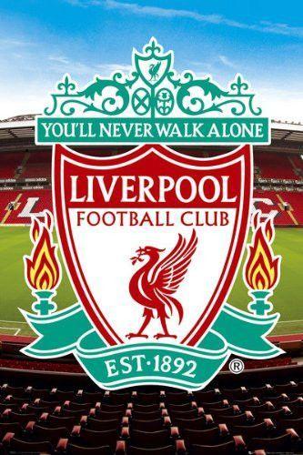 Spt36581 Liverpool Club Crest 24x36 Fussball Liverpool