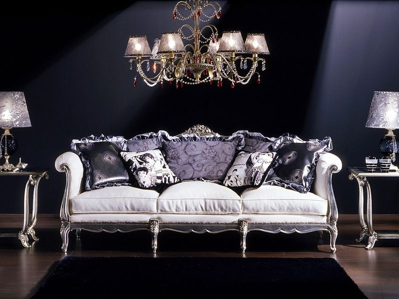 3380 Louis XV Sofa By SanVito Angelo U0026 Figli Snc: Upholstered Sofa Louis XV  Style, Hand Carved.