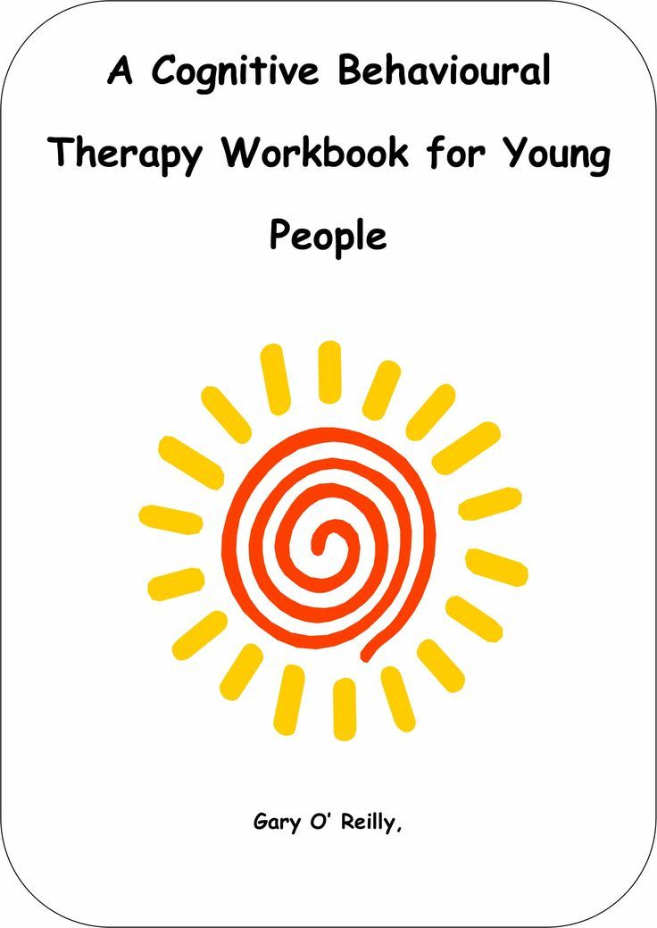 Cbt Workbook For Young People Repinned By Kim Peterson Httpwww