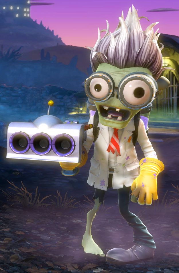 Scientist Is A Playable Zombie In Plants Vs Zombies Garden