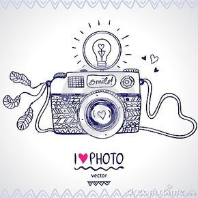 Cute Camera Sketch Google Search Camera Sketches Camera Art