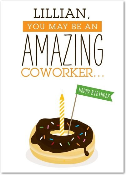 Working wonder personalized birthday cards for your co worker personalized birthday cards for your co worker from treat bookmarktalkfo Gallery