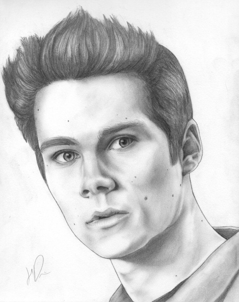 Dylan Obrien Drawings Dylan Obrien Stiles Stilinski By