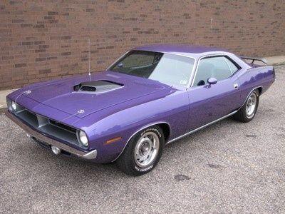 70 Plymouth Barracuda Plum Crazy Purple