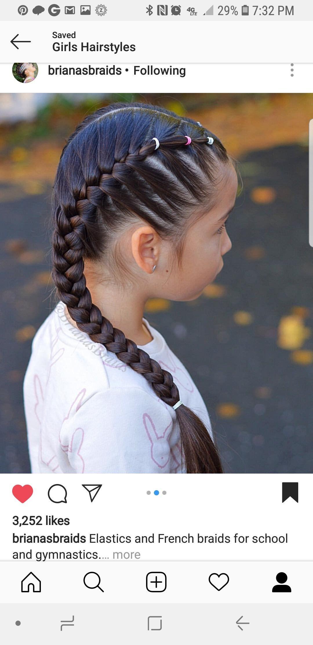 pin by yesenia garcia on girl's hair | girl hairstyles, baby