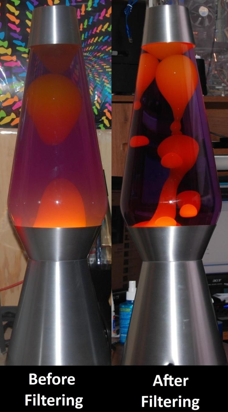 Fix lava lamp