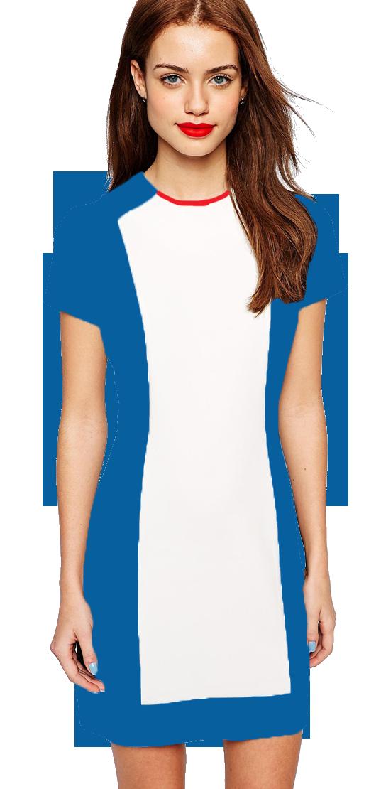 a633eb115 0024 Vestido Duas Cores #dress #uniforme #senhorcoelho#colors ...