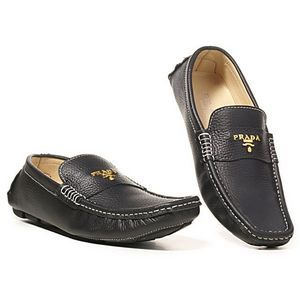 47f771d34c27 prada loafers Prada Outfits, Driving Loafers, Gentlemans Club, Gentleman  Shoes, Prada Men