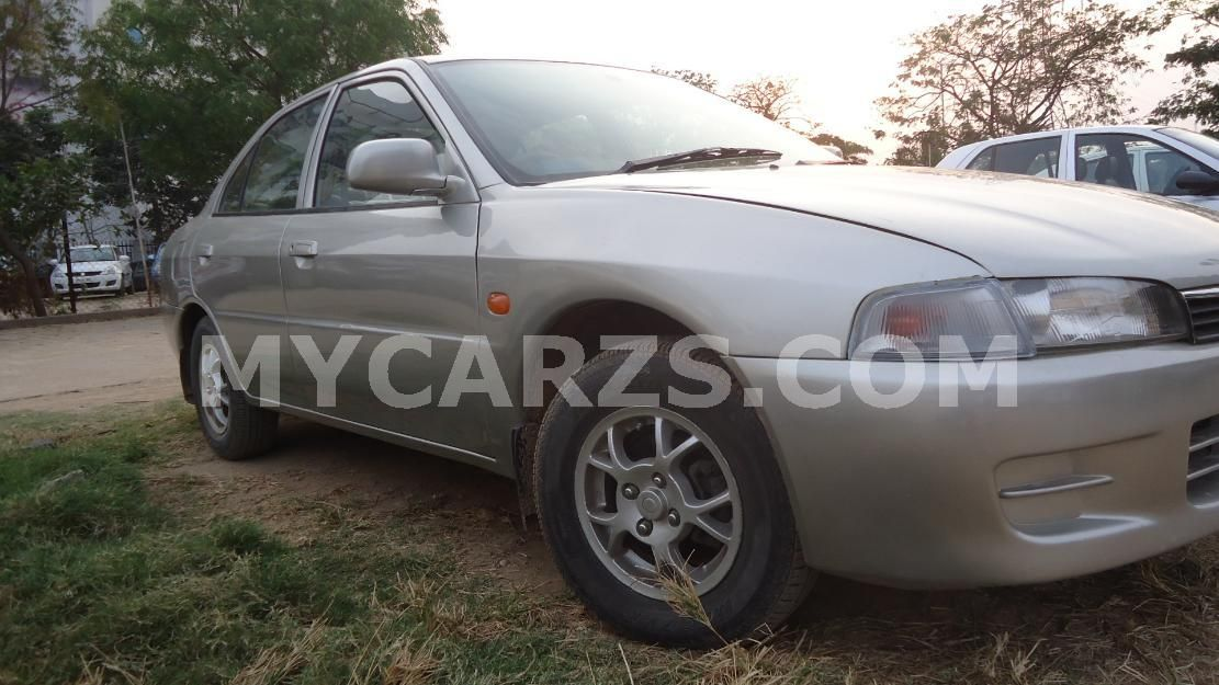 MITSUBISHI LANCER silver,2000 in Hyderabad Used cars can