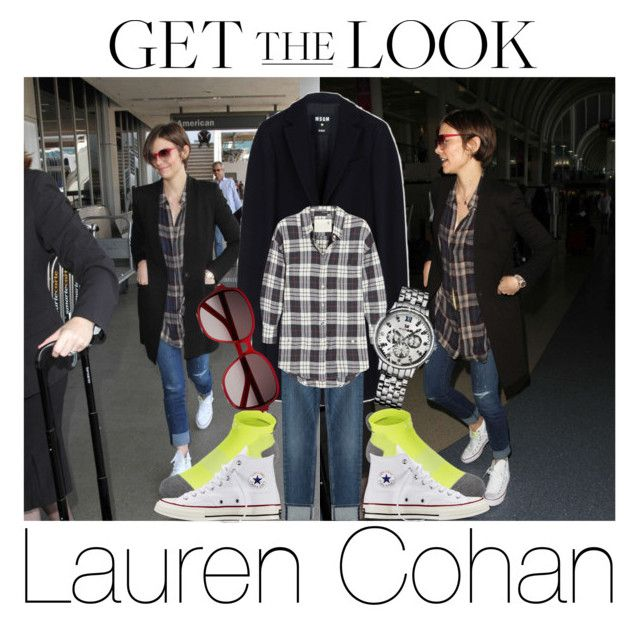 """""""Lauren Cohan"""" by kyleboobfloski ❤ liked on Polyvore featuring MSGM, 7 For All Mankind, R13, Converse, Tommy Hilfiger, Yves Saint Laurent, GetTheLook, airportstyle, laurencohan and twdcast"""