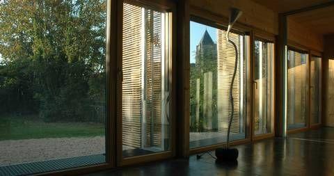 Maison passive certifi e passivhaus en le de france maisons design et colos passives hqe - Maison passive design ...