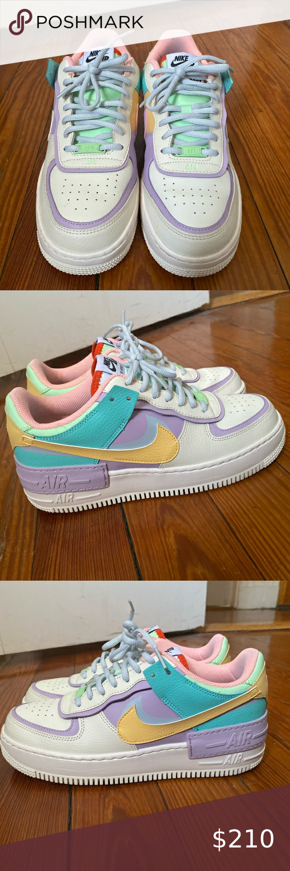 AIR FORCE 1 SHADOW PALE IVORY WOMANS SIZE 10 in 2020 Air