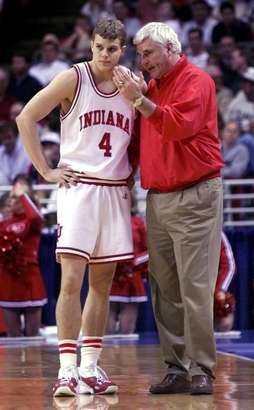 The Greatest Coach Of All Time Indiana Basketball Indiana Hoosiers Basketball Basketball Coach