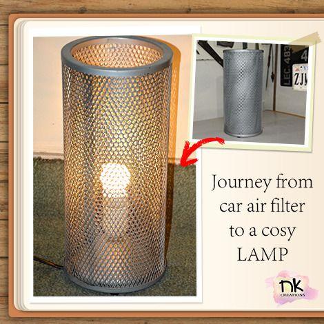Car Air-Filter Lamp #nkcreations #practical #durable #lamp ...