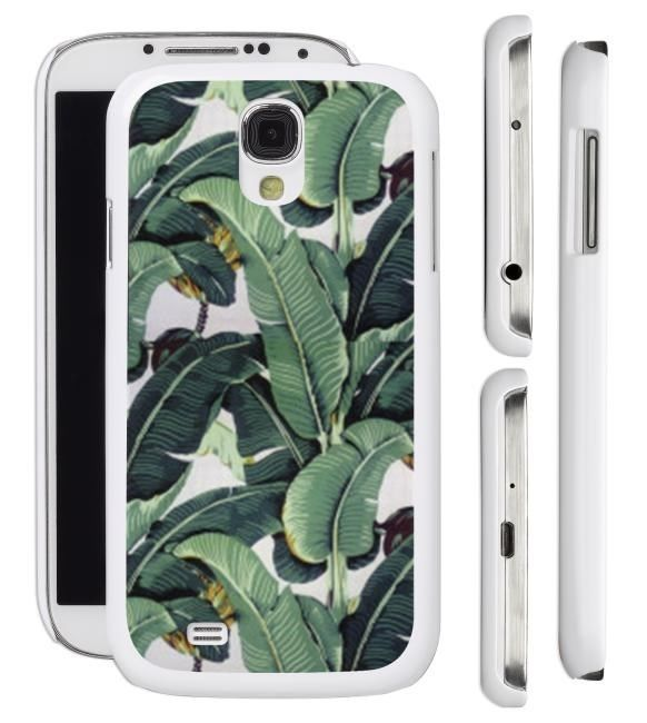 The Beverly Hills Hotel Martinique Banana Leaf Wallpaper Samsung Galaxy S4 S3 Phone Case Cover