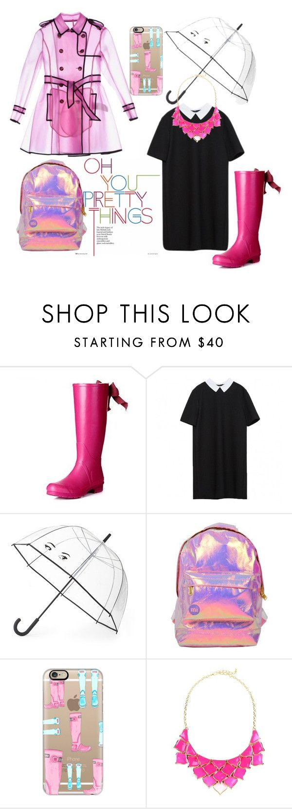 """""""Rainy Day"""" by beatricess ❤ liked on Polyvore featuring Kate Spade, Miss Selfridge, Casetify and George J. Love"""