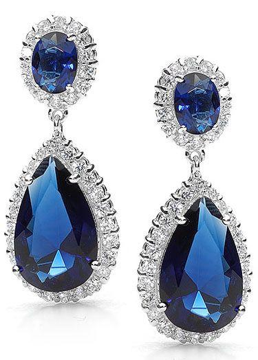 Scarlett Earrings Sapphire $89.95