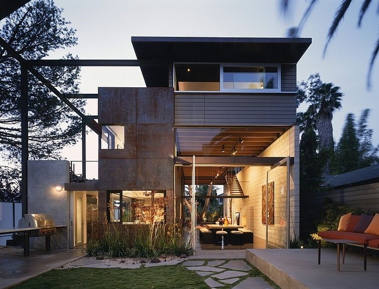 700 Palms Residence By Ehrlich Architects Homeadore Architecture House Industrial Home Design Industrial House