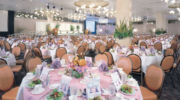 Pacific Beach Hotel Hawaii Venues Indoor Pink Ballroom Wedding Venue