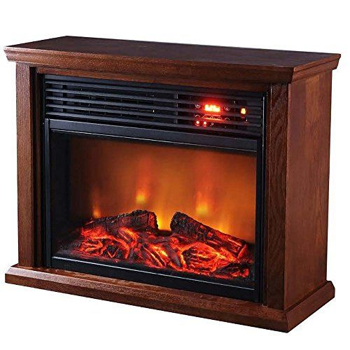 Thermal Wave By Sunheat Twfp1510 Dark Oak Infrared Fireplace Dark