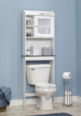 Caraway Over Tank Storage Shelf In White Amp Grey Home