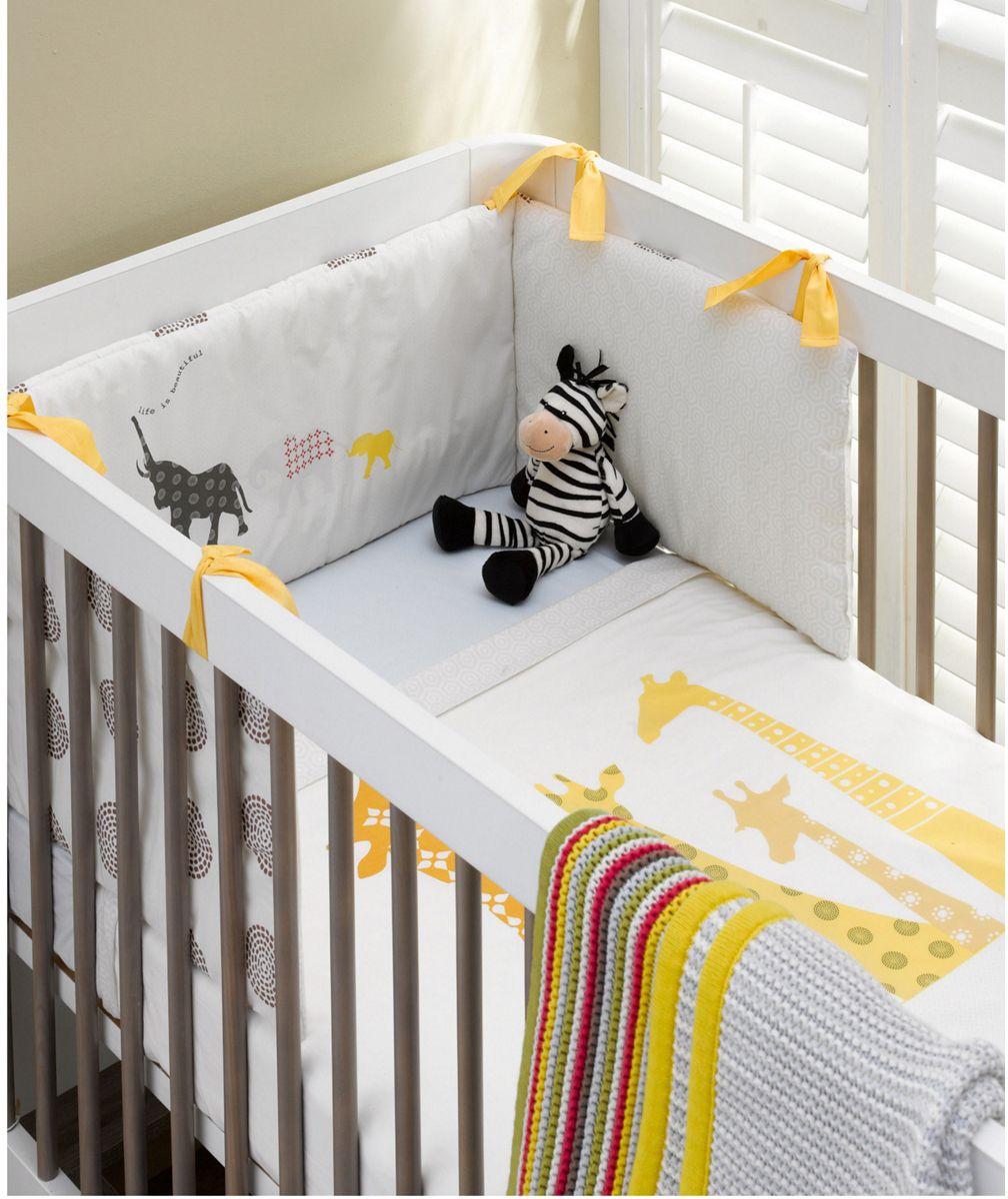 Mothercare Tusk Bumper. Tusk bedding range to add perfect
